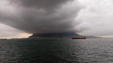 Clouds over Gibraltar
