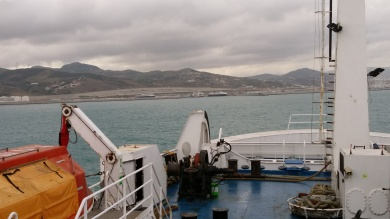 Approaching Tangier Med
